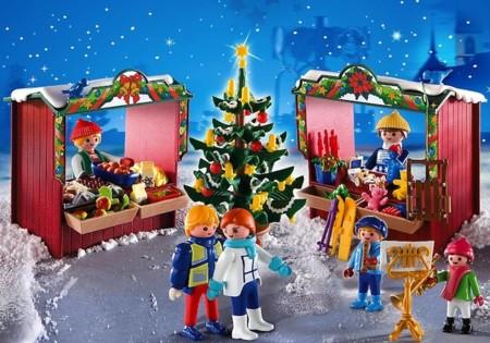 mercado navidad de playmobil