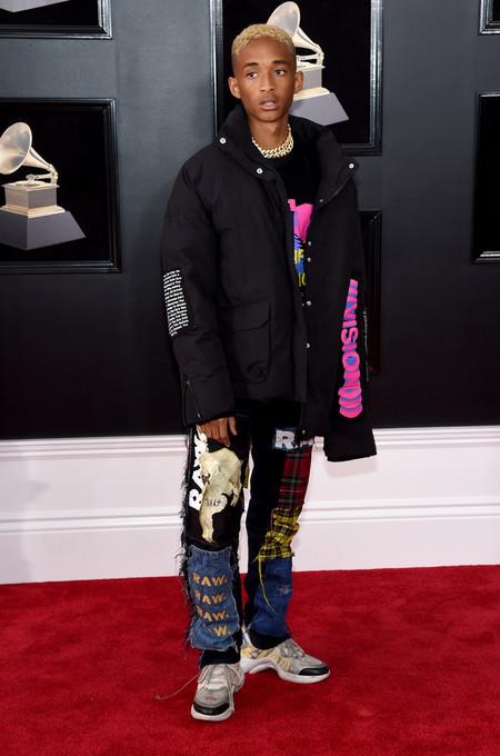Jaden Smith Da Mala Nota Con Su Look De Lo Mas Hortera De Los Premios Grammy 2