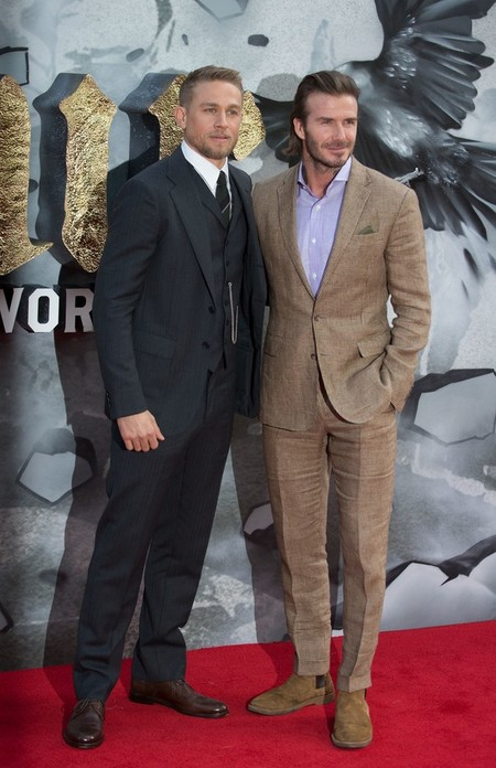 David Beckham King Arthur London Premiere 2