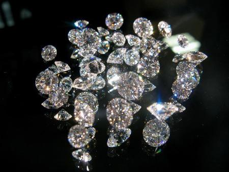 El color de los diamantes