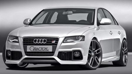 La preparación de Caractere para el nuevo Audi A4