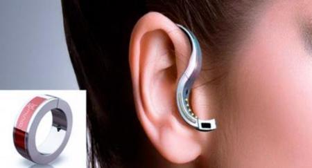 Anillo y auricular bluetooth para tu teléfono móvil