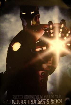 Póster y villano para 'Iron Man'