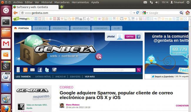 Ubuntu WebApps