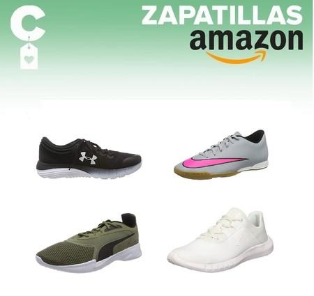Chollos en tallas sueltas de  zapatillas Nike, Asics, Under Armour o Puma por menos de 30 euros  en Amazon
