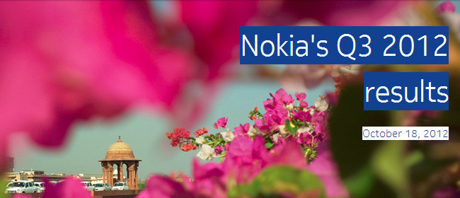 Nokia Q3 2012