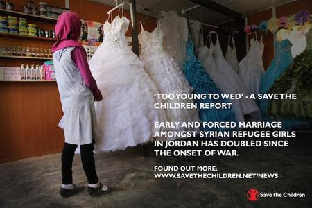Pobreza extrema y miedo a la violencia sexual son causas del matrimonio forzoso de niñas sirias refugiadas