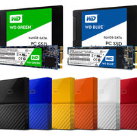 WD Blue y WD Green: Western Digital por fin se lanza con los SSD y rediseña My Passport