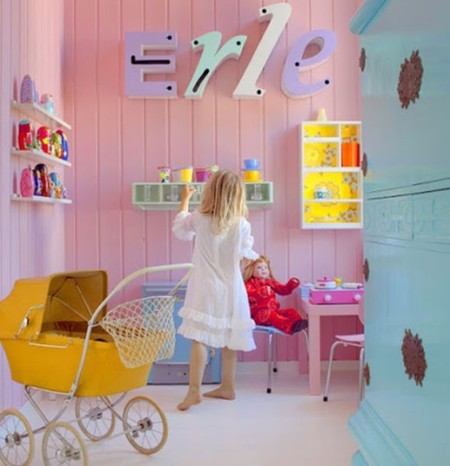 Un dormitorio infantil diferente