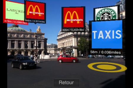 Metro Paris Subway, la primera aplicación de realidad aumentada del iPhone