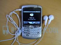 Blackberry Curve: imágenes del reproductor