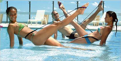 Pilates acuático
