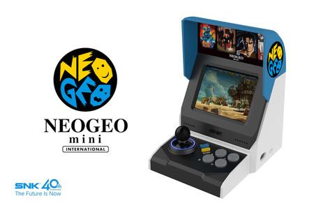 Neo-Geo Mini: la consola retro de SNK llega en formato mini arcade con 40 juegos, HDMI y cargada de nostalgia