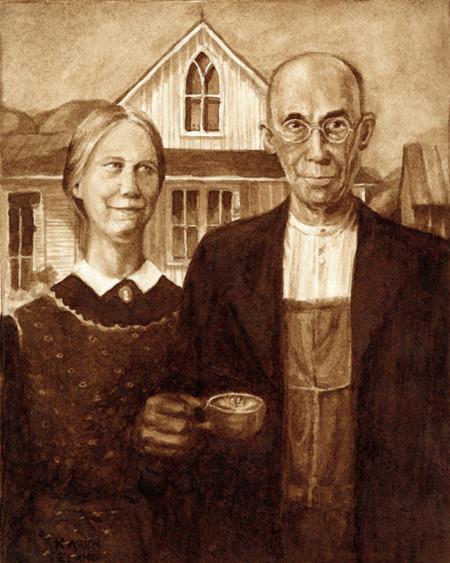 Coffee Paintings 21
