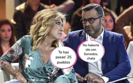 Así ha sido el encontronazo entre Jorge Javier Vázquez y Rosa Benito en pleno centro de Madrid