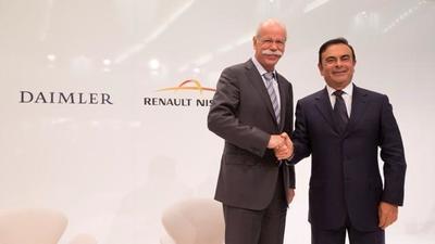 Nissan y Daimler formalizan alianza para producir autos en México