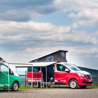 Nissan ya vende sus NV200 y NV300 en versión camper, cargadas de comodidades para la aventura