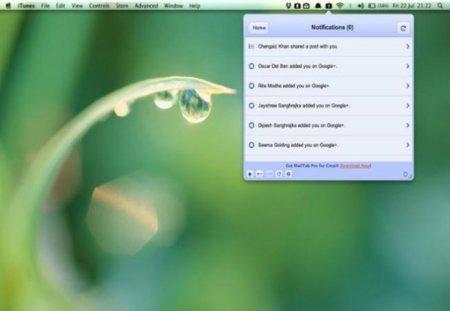 Google Plus llega al escritorio de Mac OS X