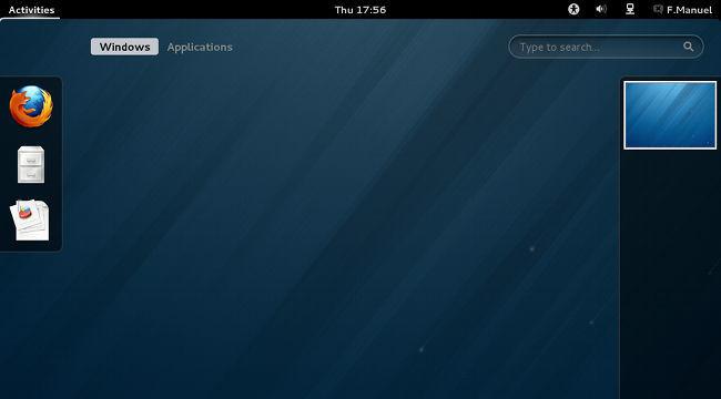 Fedora 18 con GNOME