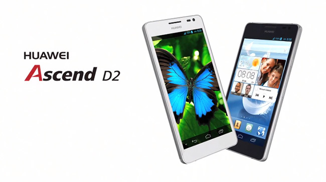 Huawei Ascend D2 models