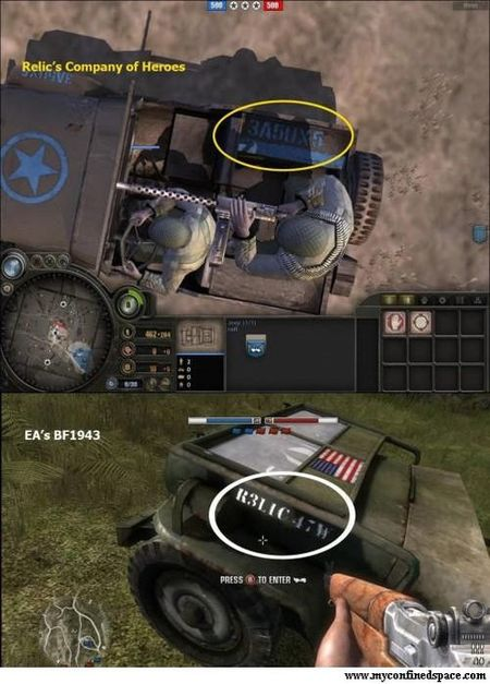 Amor y odio entre EA y Relic