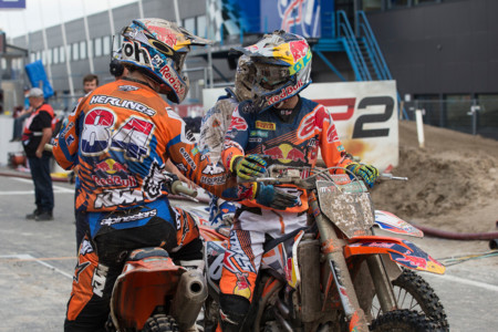 Jeffrey Herlings Jorge Prado Mx2 Assen Ktm