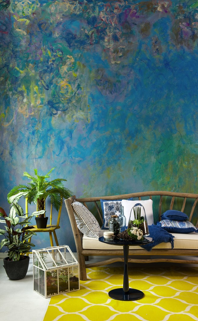Wistreria By Monet Murals Wallpaper