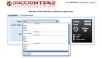 99counters, contador de visitas para tu web