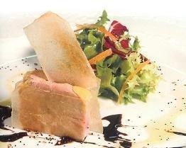 Foie Grass en ensalada