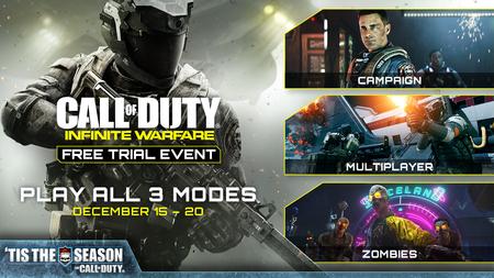 Del 15 al 20 de diciembre Call of Duty: Infinite Warfare se juega gratis en consolas