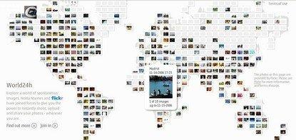 Nokia y Flickr: un mundo de imágenes