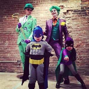 Los fantásticos disfraces de Neil Patrick Harris y su familia