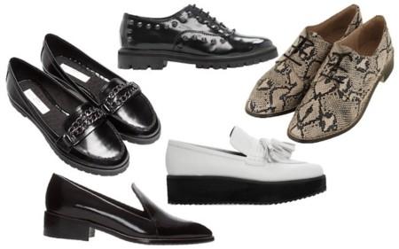 zapatos planos invierno 2014