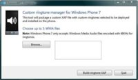 ChevronWP7 te permite poner tonos de llamada en Windows Phone 7