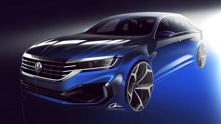 Volkswagen Passat 2020 Teaser 2
