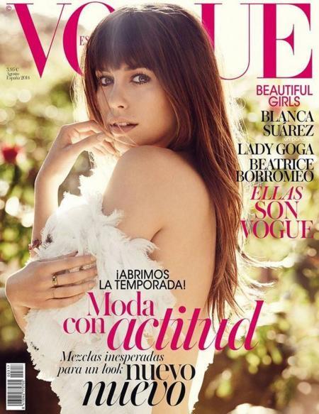 Blanca Suárez ya tiene su portada de Vogue España