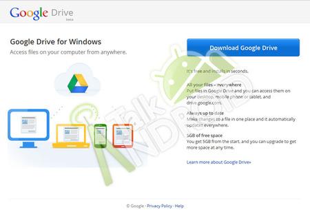 Google Drive se podría estrenar en los próximos días con 5 GB gratuitos