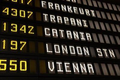 Aeropuertos italianos afectados por la operación militar en Libia