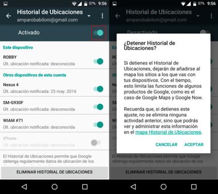 Localizacion Desactivar Android