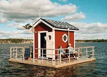 Un hotel para dormir junto a los peces