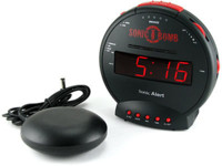 Sonic Boom Alarm Clock, sin problemas para despertarte