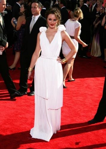 Blake Lively y Leighton Meester, estilo Gossip Girl: sus mejores looks de 2009. Bottega Veneta