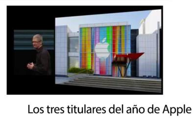 Los tres titulares del año que marcaron la historia de Apple