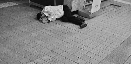 Sleeping Japanese, por Héctor García