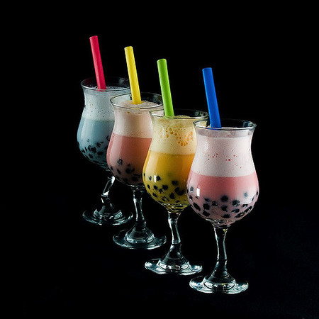 Bebidas con tapioca