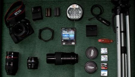 Prepara tu equipo fotográfico