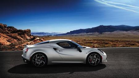 Alfa Romeo 4C Launch Edition lateral