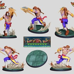 Foto 4 de 8 de la galería street-fighter-the-miniatures-game en Vida Extra