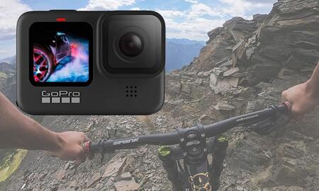Amazon te deja la GoPro Hero9 Black por 375 euros para que te lleves de vacaciones la mejor cámara de acción