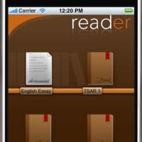 reader, lector de ebooks para iPhone